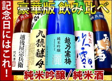 日本酒 豪華版セット