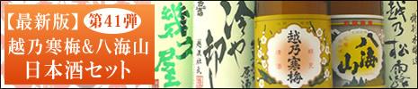 日本酒 第41弾飲み比べセット