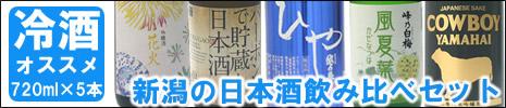 日本酒 冷酒日本酒飲み比べセット