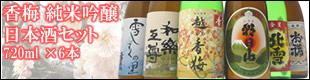 香梅日本酒セット