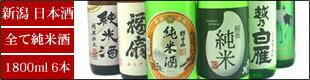日本酒 越後長岡純米セット(送料無料)