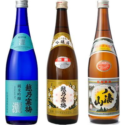 日本酒 720ml3本セット