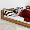 ベッド シングル フレームのみ シングルベッド ベッドフレーム シングルサイズ コンセント付き 宮付き 木製 フロアベッド ローベッド ベット 北欧 モダン ホワイト ダークブラウン ライトブラウン 白 安い