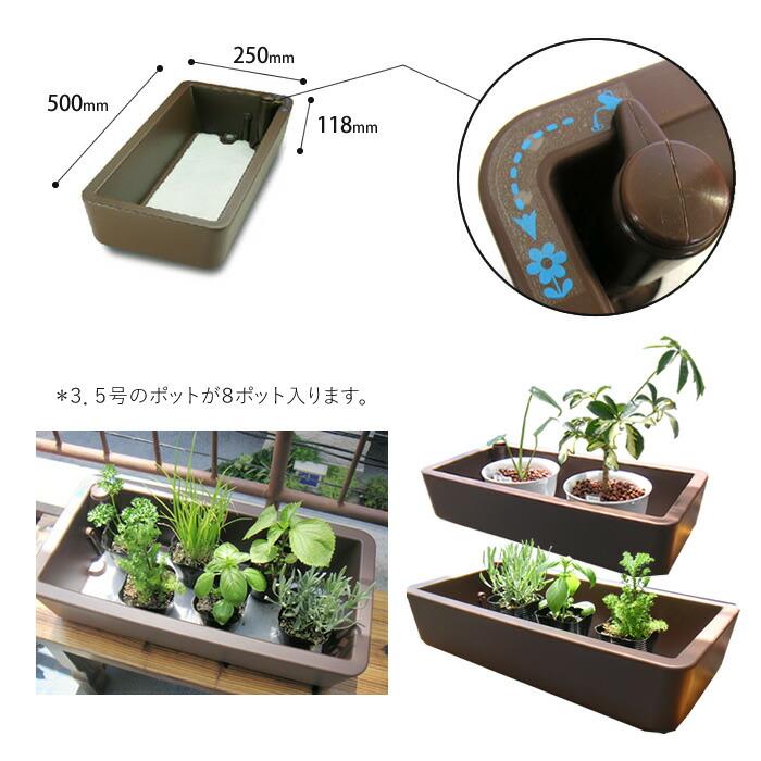 自動給水 水耕栽培 eプランター