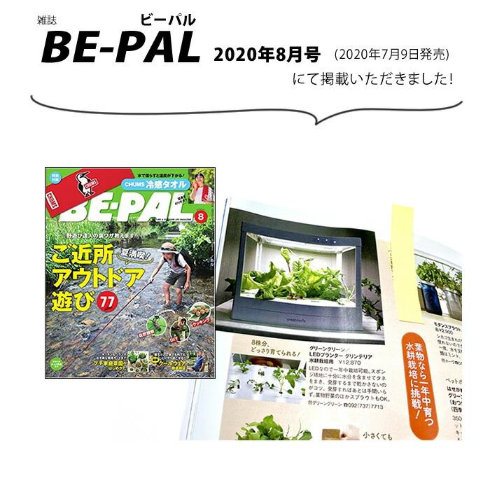 BE-PAL 2020年8月号