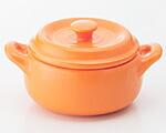 K'dep(ケデップ) 超耐熱セラミック鍋 セラウェア11cm オレンジ