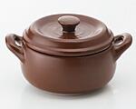 K'dep(ケデップ) 超耐熱セラミック鍋 セラウェア11cm ブラウン