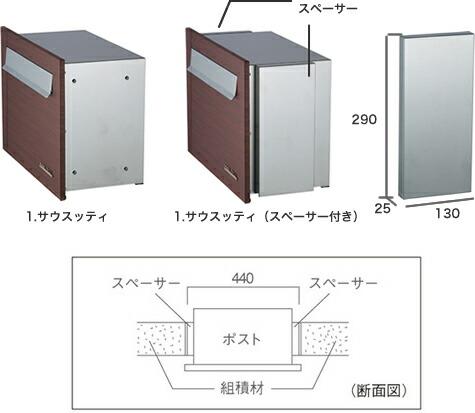 組積材の400mm幅と450mm幅に対応できる2タイプをご用意