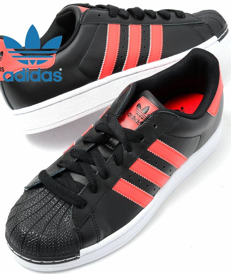 65fb320210b7 adidas superstar black red