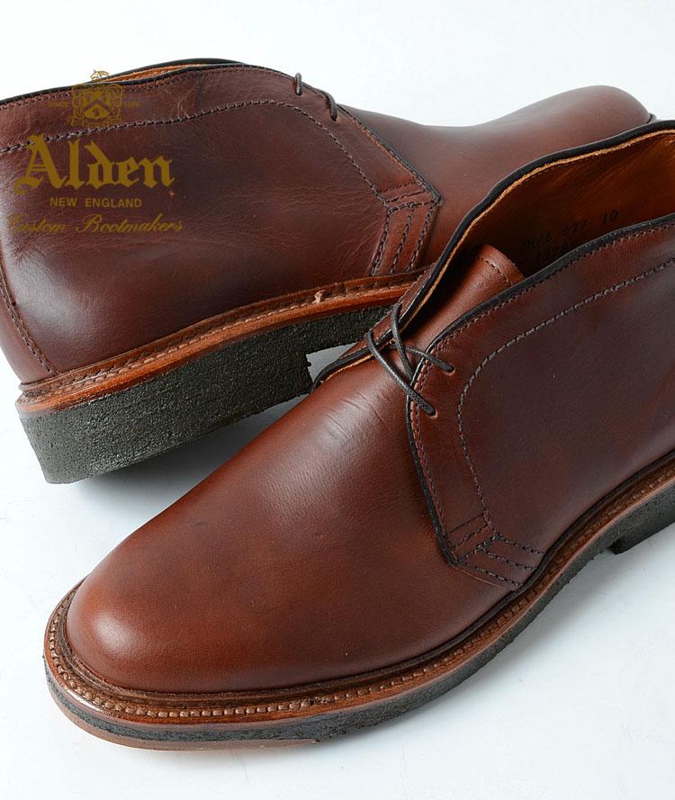 Honey Alden Alden ★ 13788 Unlined Chukka Boot ★ Chukka