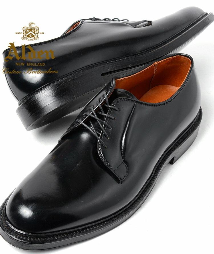 Black Oxford Shoe Toe Design