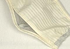 【和っ布る 和紙布マスク】ポケット構造