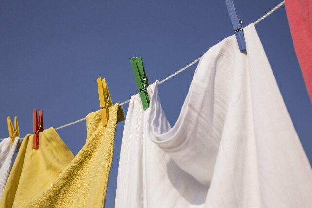 洗濯ものの除菌対策に!