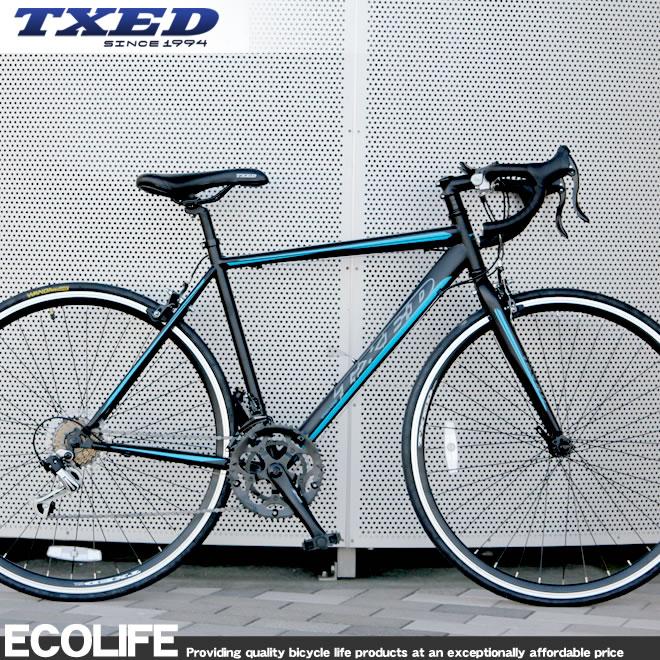 ロードバイク 自転車 700C シマノ14段変速 自転車 TXED