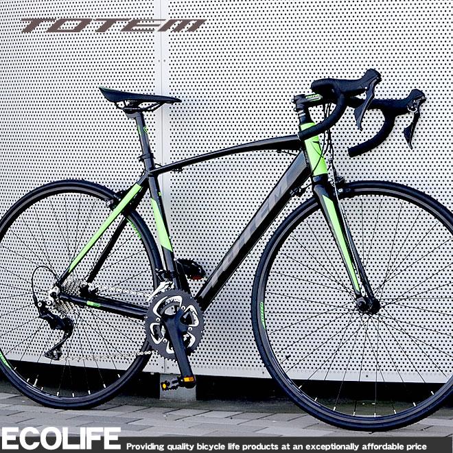 ロードバイク 700C 自転車 軽量 アルミ シマノ22段変速 シマノ105
