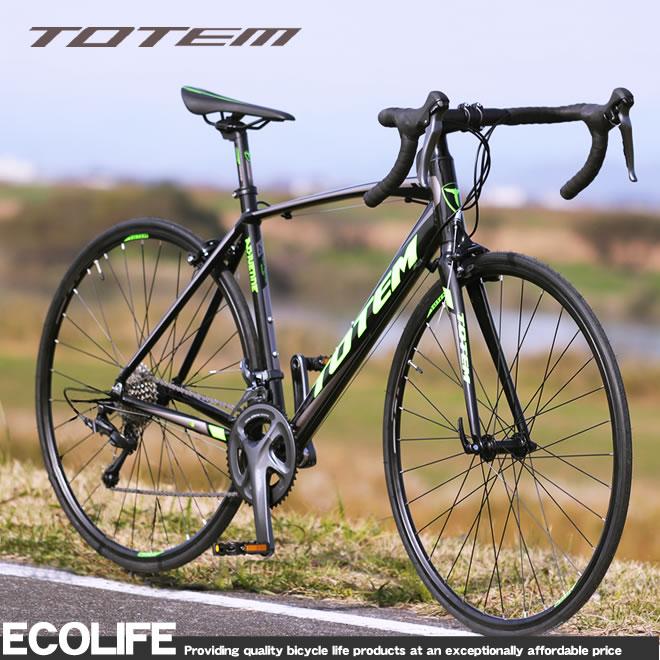 ロードバイク 700C 自転車 軽量 アルミ シマノ16段変速 クラリス