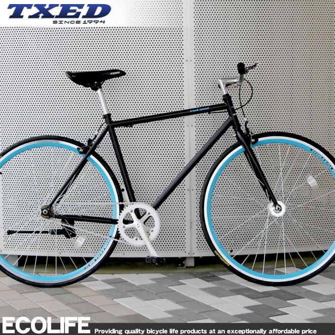 クロスバイク 700C 自転車 シングルスピード 自転車