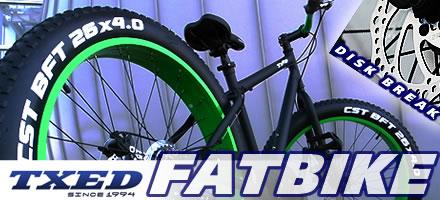TXED ファットバイク 26インチ
