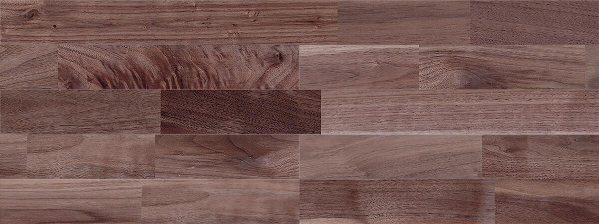クルミ(アメリカン・ブラック・ウォルナット) ユニ 無垢フローリング【ラスティック】無塗装 15×90×1820mm