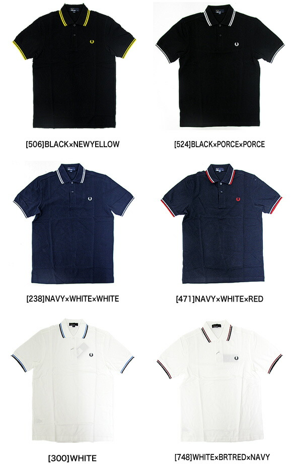 FRED PERRY フレッド ペリー M1200 半袖 ポロシャツ / ポロシャツ