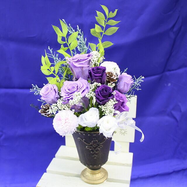 厳選プリザ 紫式部5,800円【送料無料】