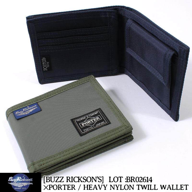 バズリクソンズ,ポーター,財布,二つ折り,BR02614
