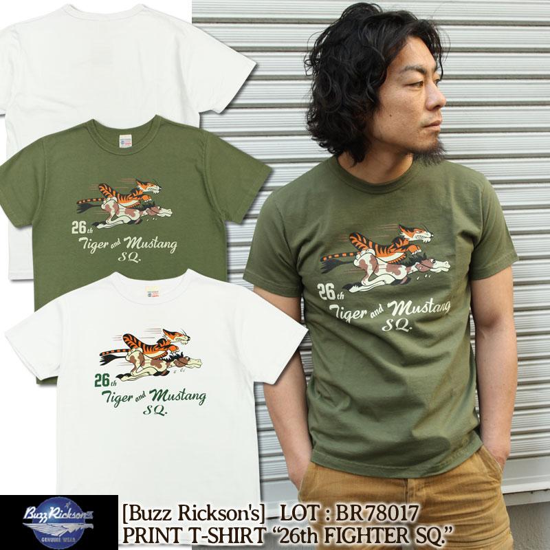 BuzzRicksons,バズリクソンズ,ミリタリー,Tシャツ,BR78017