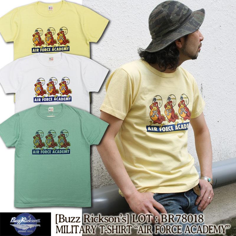 BuzzRicksons,バズリクソンズ,ミリタリー,Tシャツ,エアフォースアカデミー,ミリタリー,BR78018