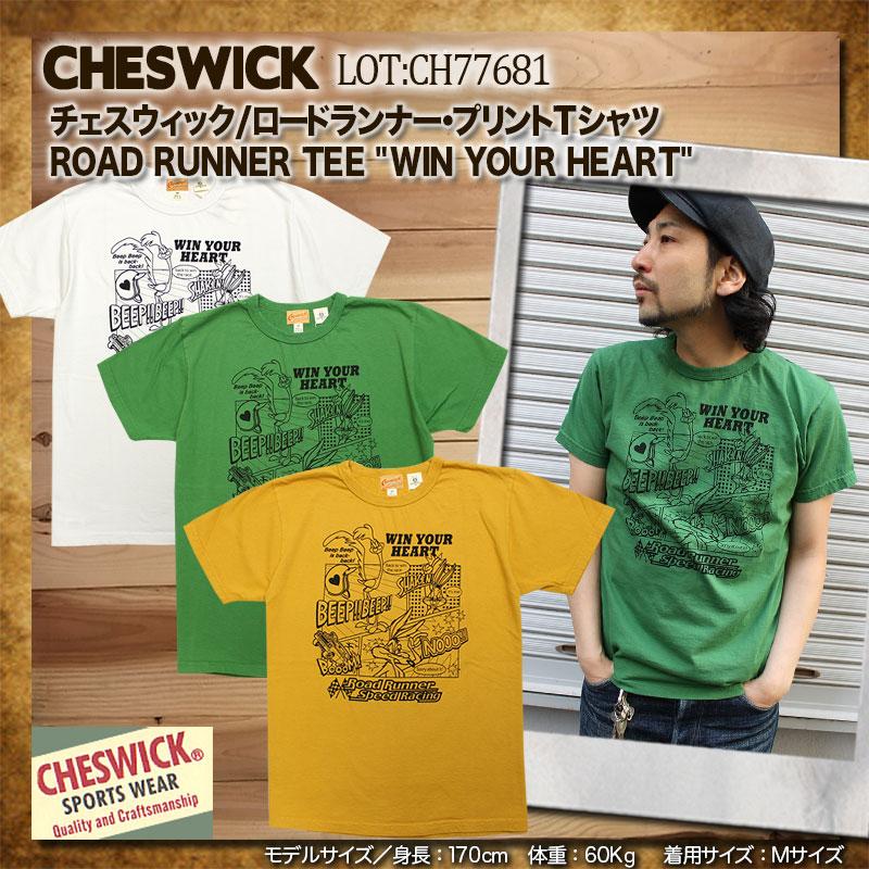 チェスウィック,半袖,ロードランナー,プリントTシャツ,CH77681
