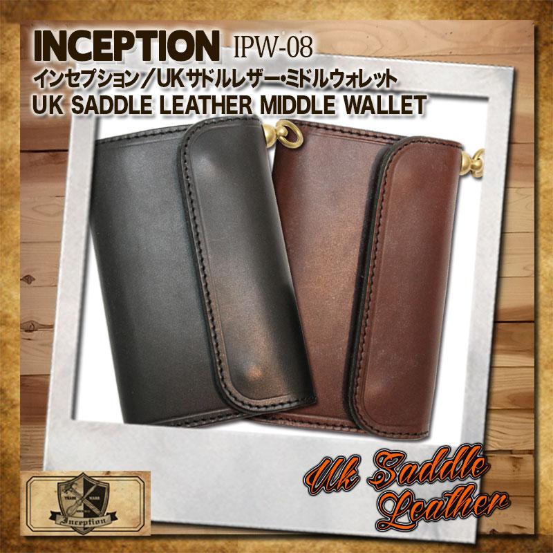 インセプション,INCEPTION,UKサドルレザー,長財布 ,IPW-08