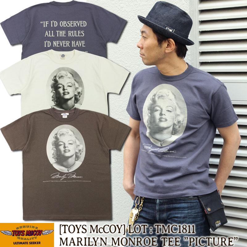 トイズマッコイ,マリリンモンロー,ミリタリーTシャツ,TMC1811