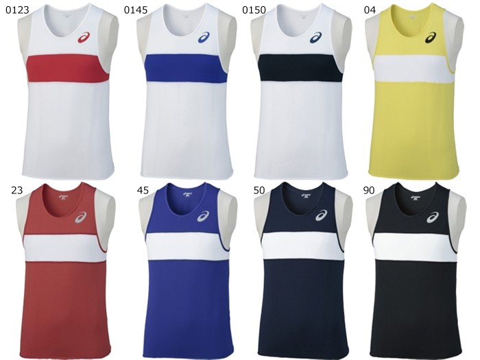 asics/アシックス 陸上 メンズ/ジュニア ランニングシャツ (XT1039)