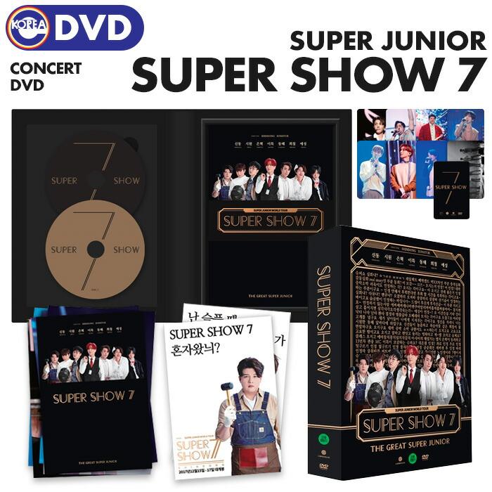 【即日発送】【 SUPER JUNIOR WORLD TOUR SUPER SHOW 7 DVD 】 スーパージュニア スジュ スーパーショー  スパショ ワールドツアー DVD-100%公式韓流ショップ 【 eKOREA SHOP 】