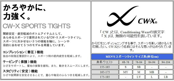 ワコール メンズ CWX CW-X HXO519