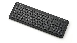 奥行きサイズを抑えたコンパクトなBluetoth®キーボード