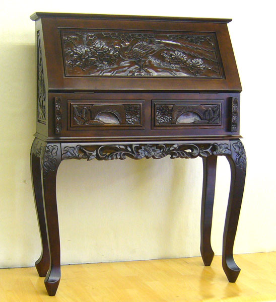 Asian carved furniture