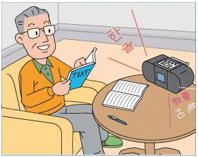 聞きたいラジオ語学講座を逃さず録音出来るラジオバンクⅡDRS-200