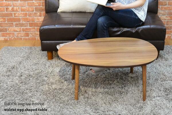 Egg Shaped Table emoor co.ltd. | rakuten global market: folding table folding table