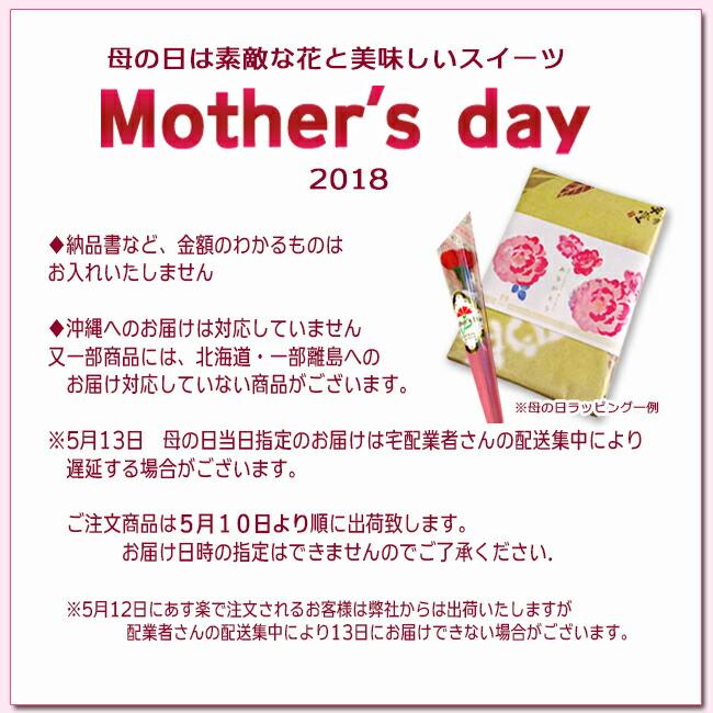 母の日注意事項