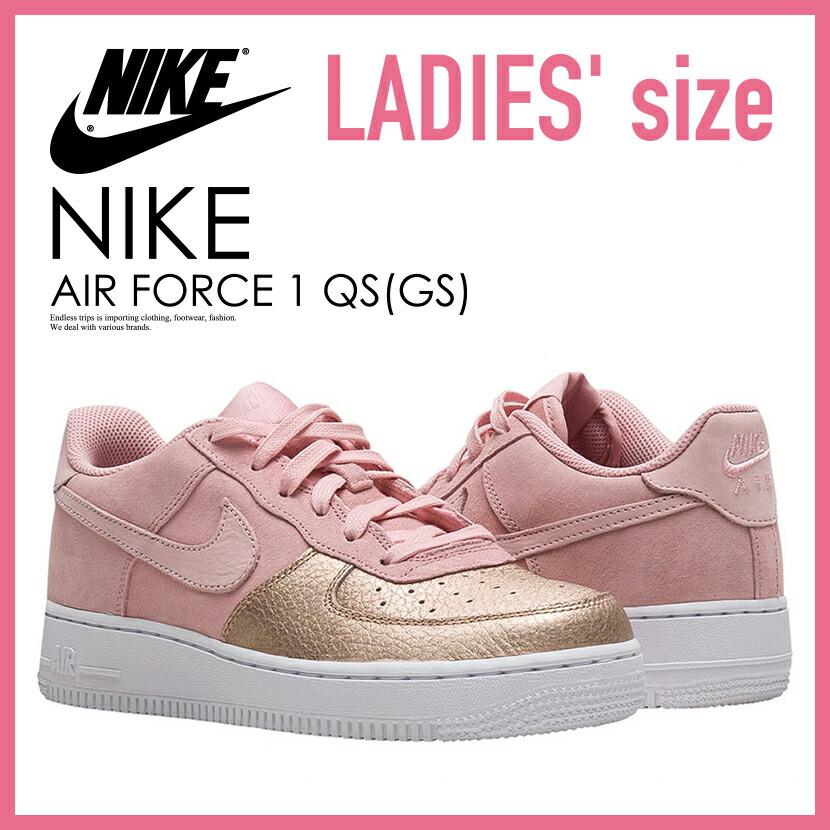 nike air force 1 kids rose gold