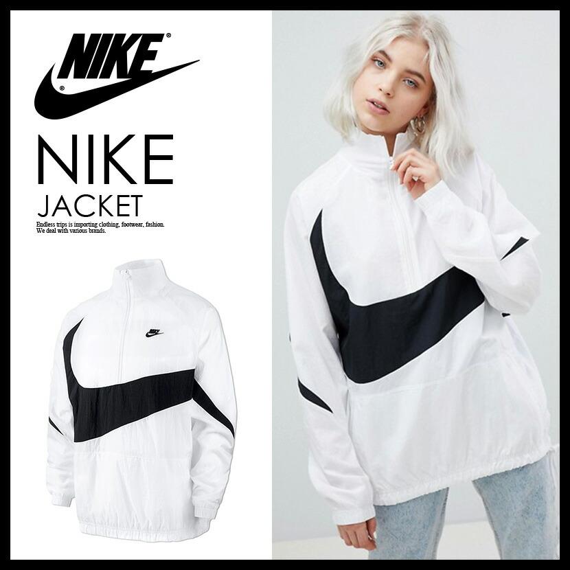 67a4f475c61f ENDLESS TRIP  NIKE (Nike) SWOOSH WOVEN HALFZIP JACKET( wish Woo half ...