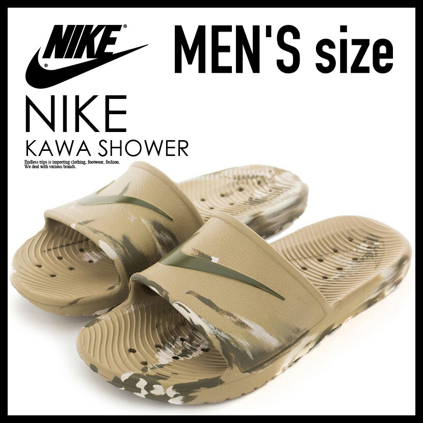 8754f2c8e341 ENDLESS TRIP  NIKE (Nike) KAWA SHOWER MARBLE (kava shower marble ...