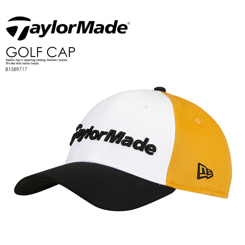 37522841cce ENDLESS TRIP  TaylorMade (tailor maid) NEW ERA 39THIRTY FITTED ...