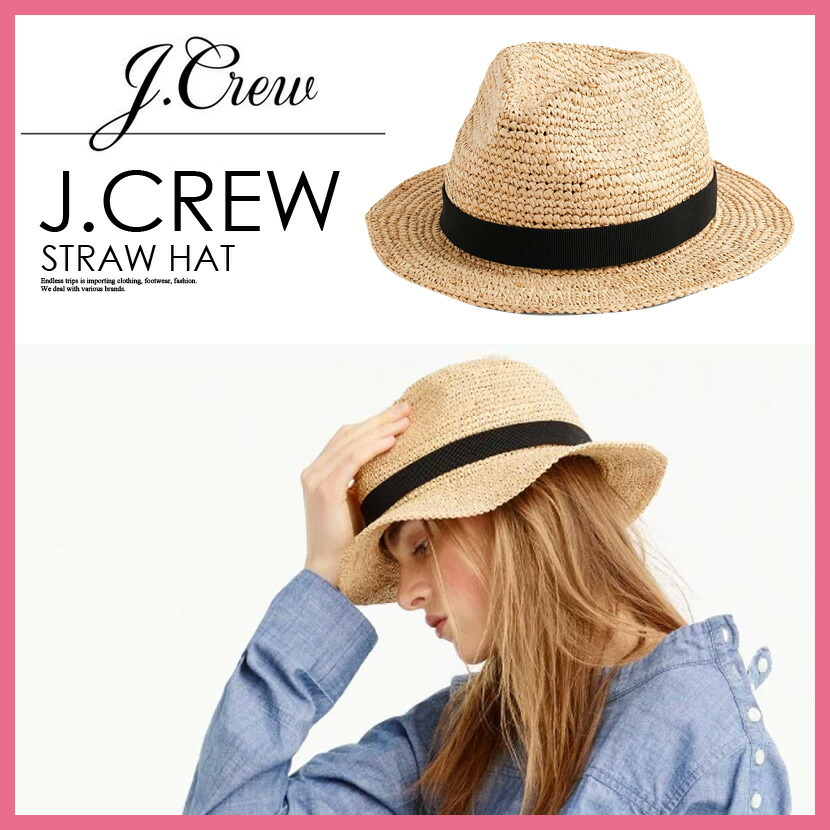 38867b9354141 ENDLESS TRIP  J.CREW (J. Crew) PACKABLE STRAW HAT (パッカブル ...