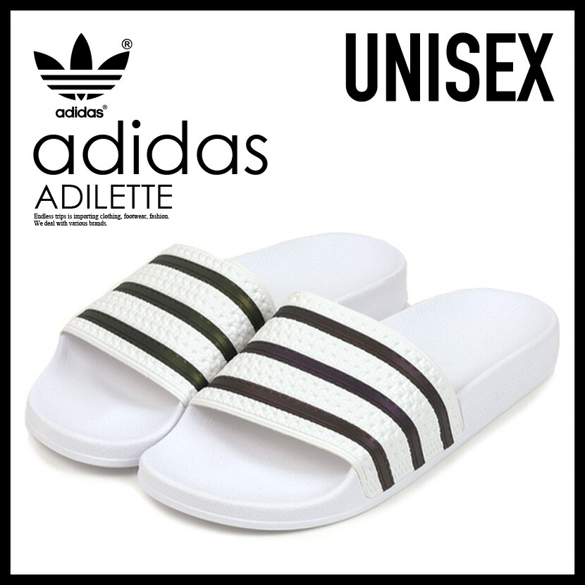best cheap 5190c b8bc3 ENDLESS TRIP adidas (Adidas) ADILETTE (アディレッタ) WOMENS women