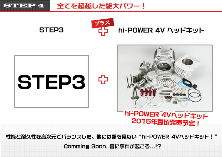 STEP4 全てを超越した絶大パワー!