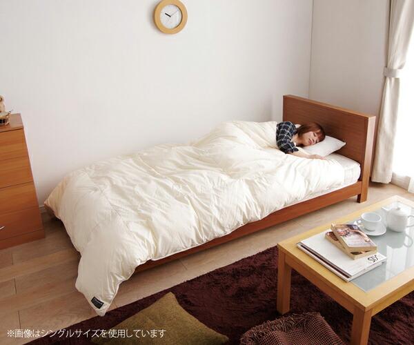 「アイリスオーヤマ シンサレート入り2層式掛け布団」使用イメージ(2) ※画像はシングルサイズを使用しています。