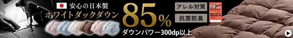 ホワイトダックダウン85%