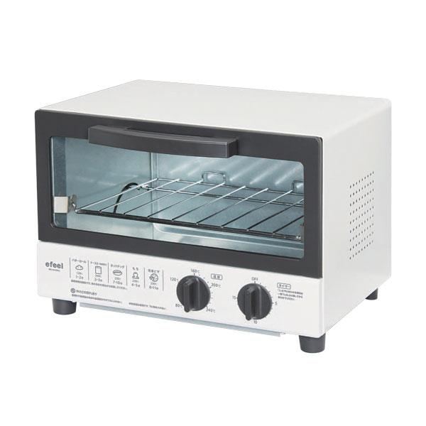 【楽天市場】【送料無料】オーブントースター TVE-102C-W ...