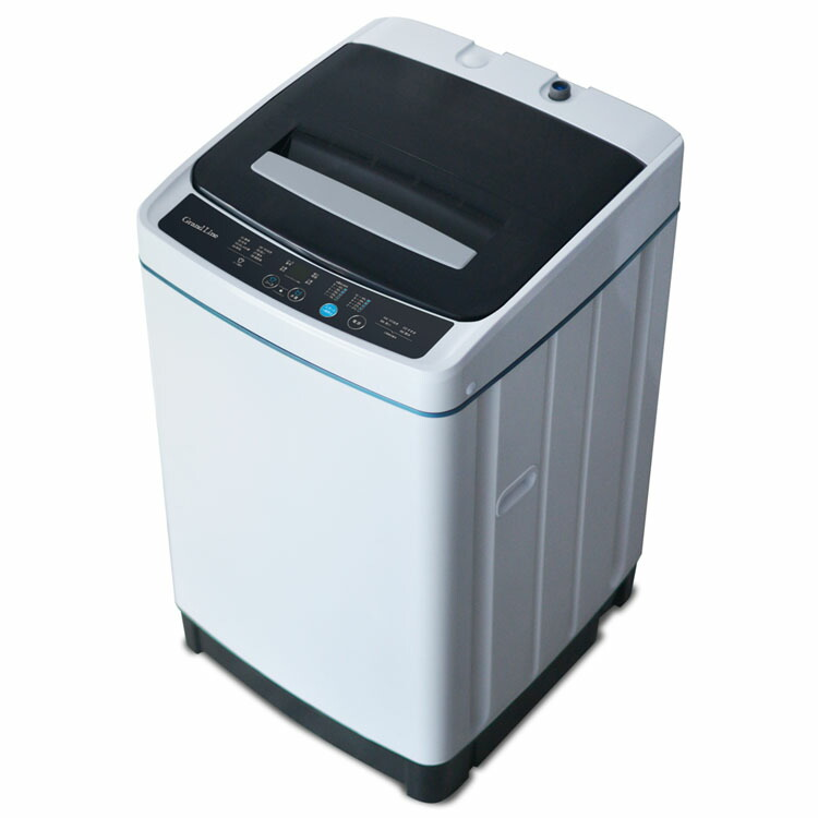 洗濯機全自動5.0kgせんたく機風乾燥35Lコンパクト白グレーGrand-Line全自動洗濯機 5.0kgA-Stage